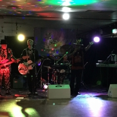NYE 2017 Band on stage 2